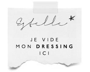 vide-dessing / shop my wardrobe