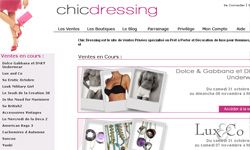 chicdressing Mon shopping en ligne