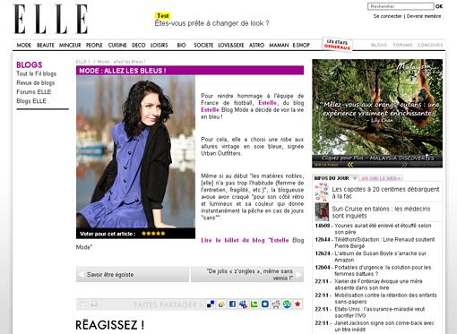 elle Presse / Médias