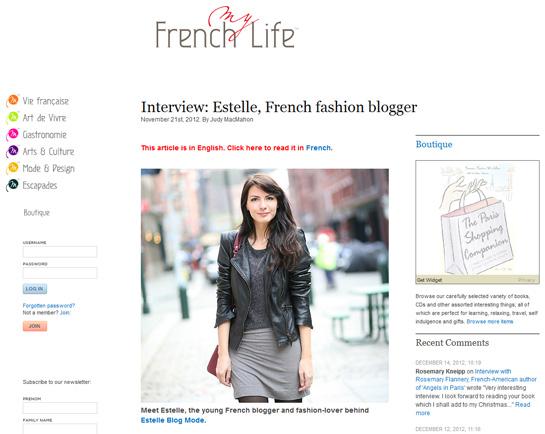 myfrenchlife Presse / Médias