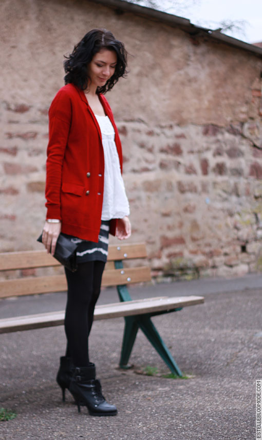 gilet thekooples Red is the new black