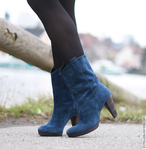 boots minelli bleues Shoes addict !