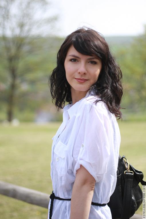 chemise blanche zara Sage simplicité