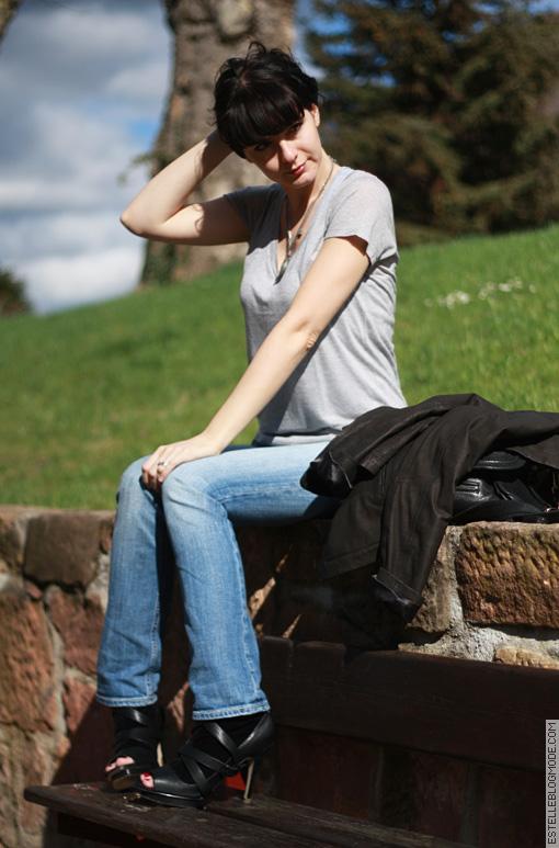 diesel jeans Denim & tee