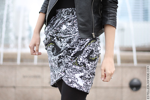 hm trend skirt Graphic trend