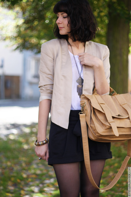 blogueuse mode1 Beige Mix