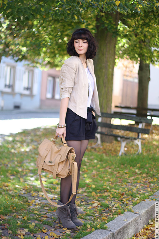 estelleblogmode Beige Mix