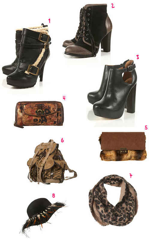 topshop wishlist Winter/autumn accessories : Topshop