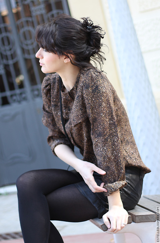 leopard blouse Animal print !
