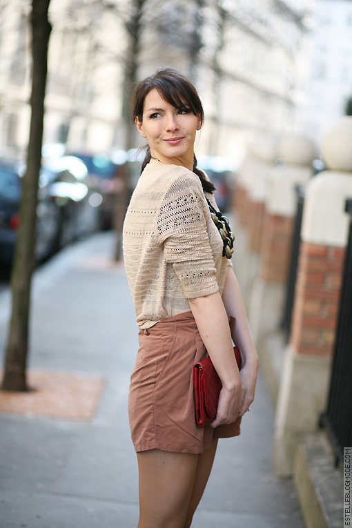 short printemps Coup de blush !