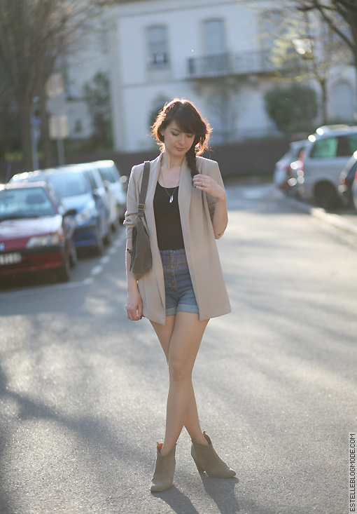 look tendance Nude and sun