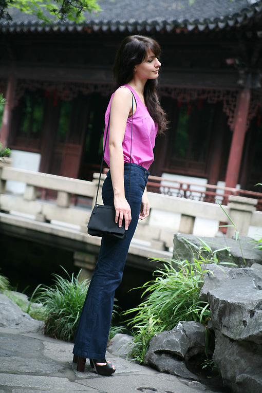 fashion blog shanghai Drôle de denim