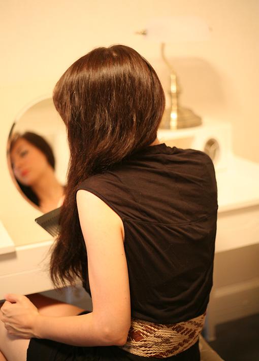 lisseur cheveux Une question de cheveux !
