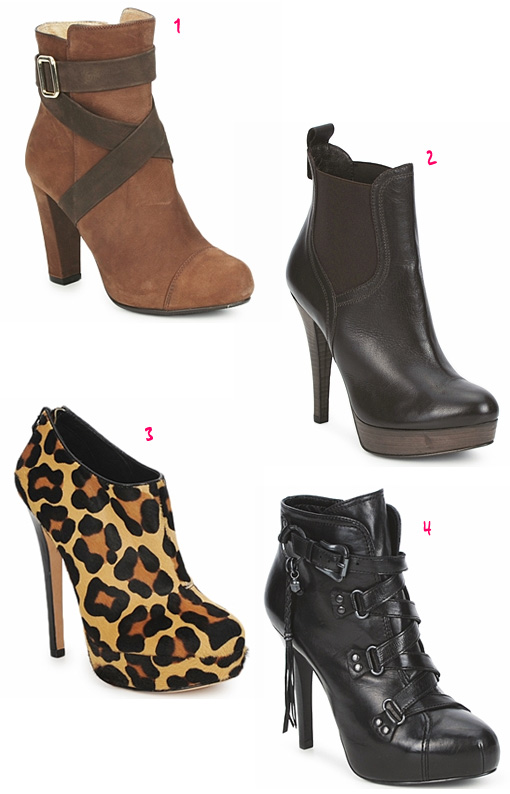 spartoo octobre2011 Slection shoes / bottines !