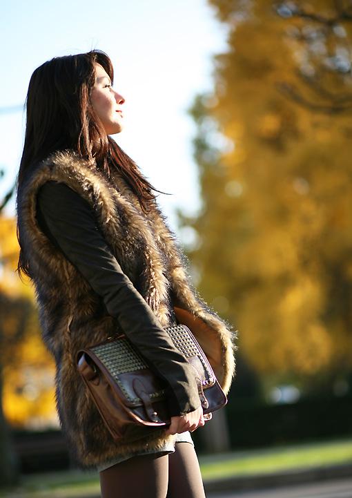 mode automne hiver Autumn Fur
