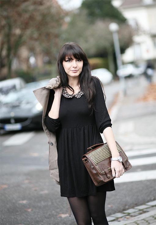 Perdue de vue estelle blog mode - Robe col claudine comptoir des cotonniers ...