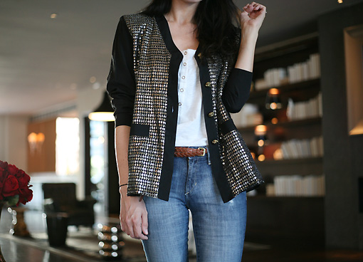 veste sequins NY Unpublished