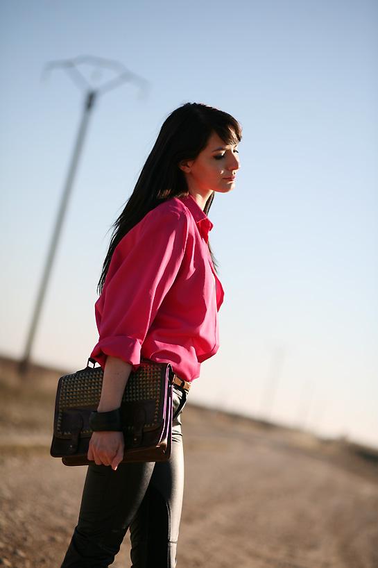 vintage pink shirt 8.2.82