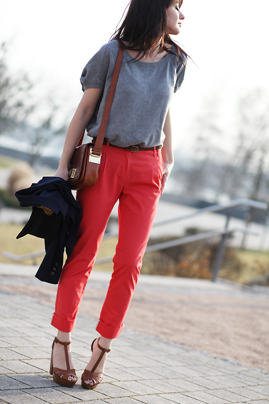 Corail n on estelle segura blog mode influenceuse for Quelle couleur porter avec du rouge