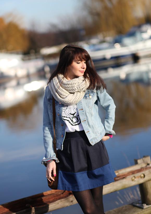 jupe bleue somewhere Dernière de 2012