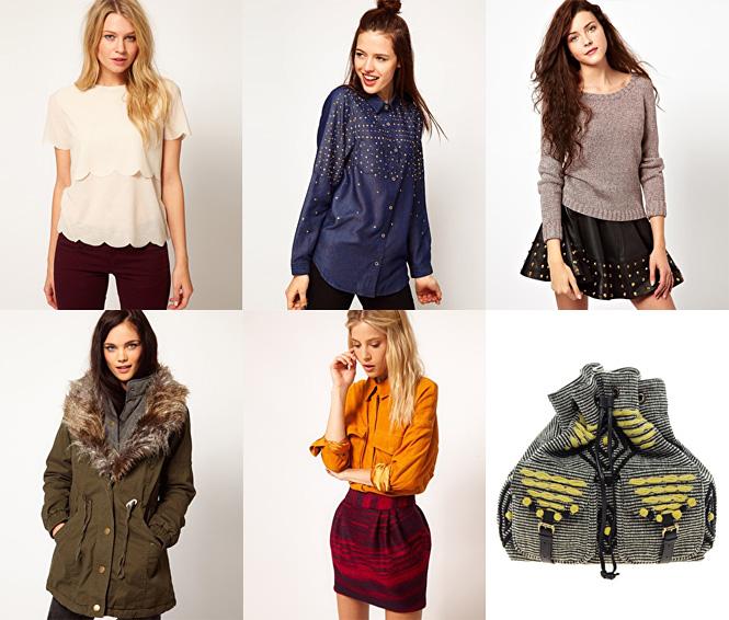 asos fevrier 2013 Le shopping du dimanche !