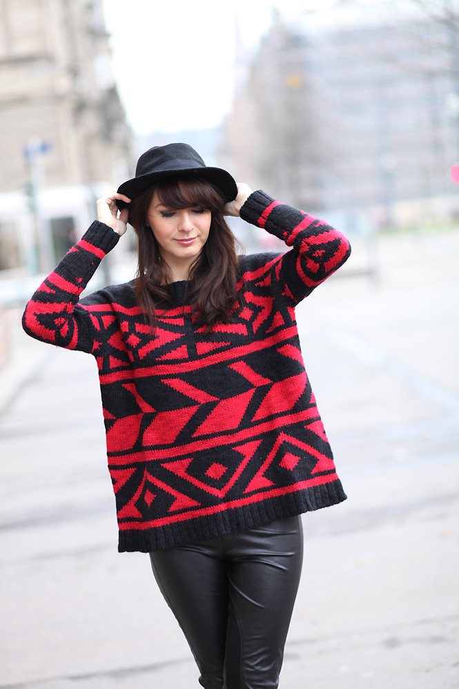 pull azteque Red aztèque