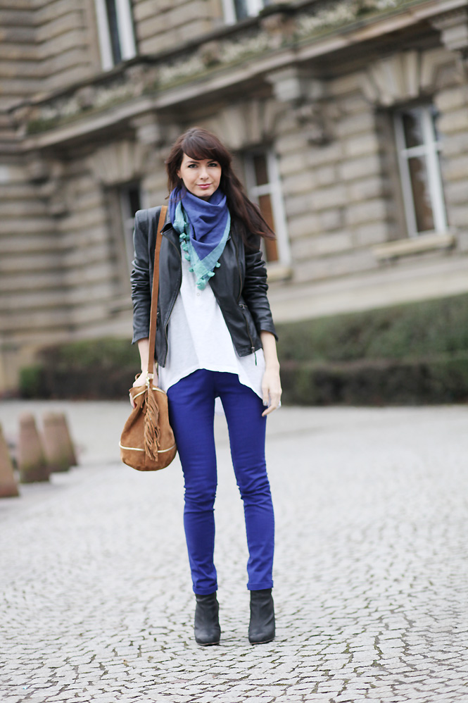 slim bleu tendance Blue jeans