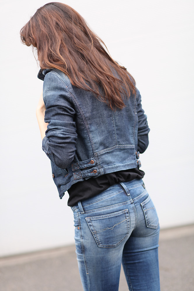 Joli cul en jeans