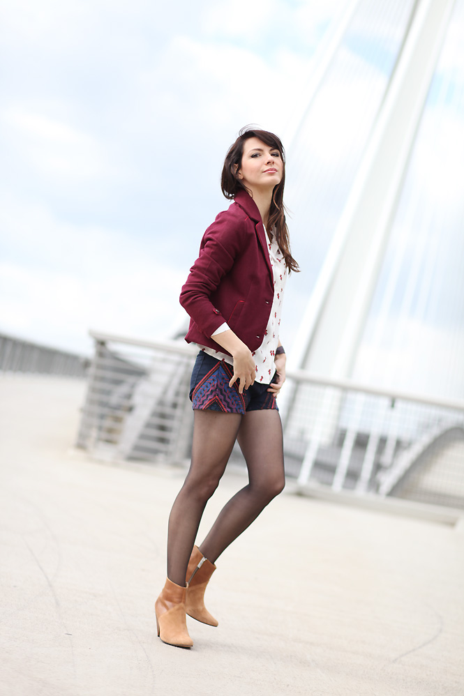 look_veste_bordeaux
