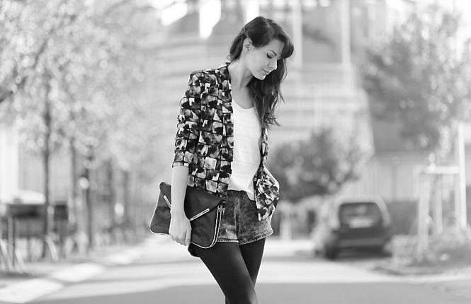 american vintage blazer Gridlines