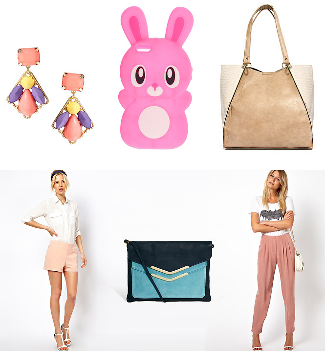 asos pastel1 Sélection shopping : pastel !