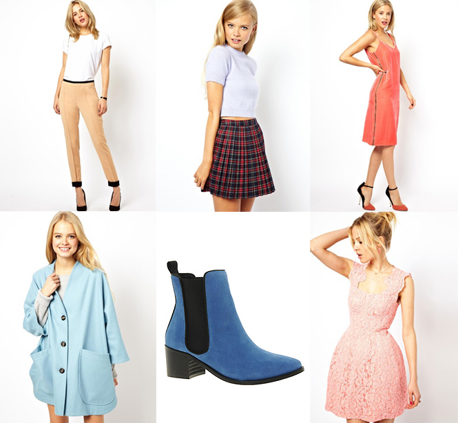 asos pastel2 Sélection shopping : pastel !