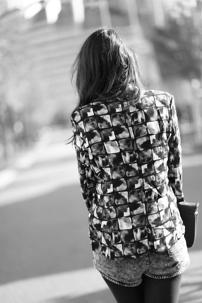 tenue american vintage Gridlines