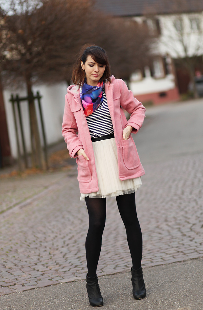 duffle coat rose 1P10S : Somewhere