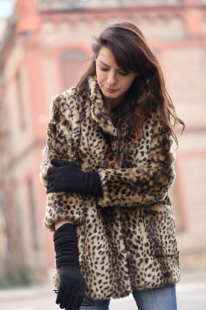 manteau leopard asos Just do it