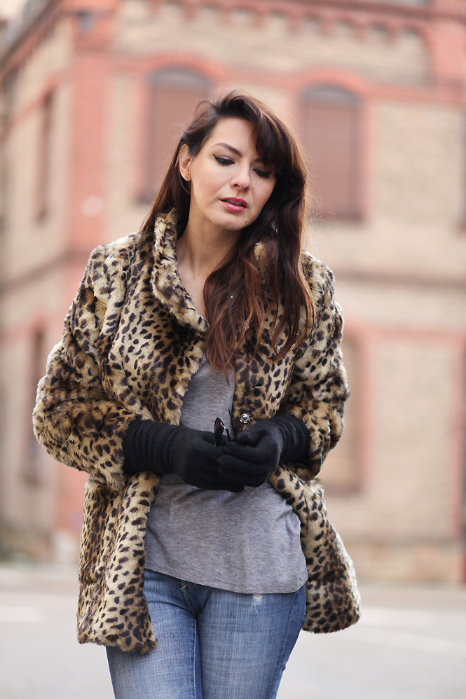 tenue leopard Just do it
