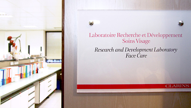 laboratoire clarins6 #Mylabexperience avec Clarins