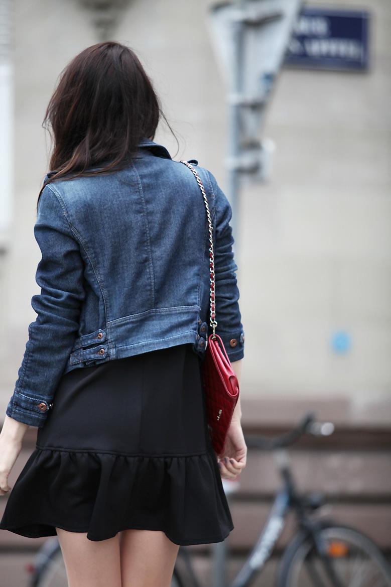 blouson jean diesel La petite robe noire