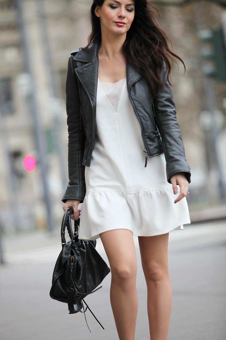 nouveau style 5ec70 42413 Balenciaga Veste En Femme Cuir Veste En x5qU6wUgWI