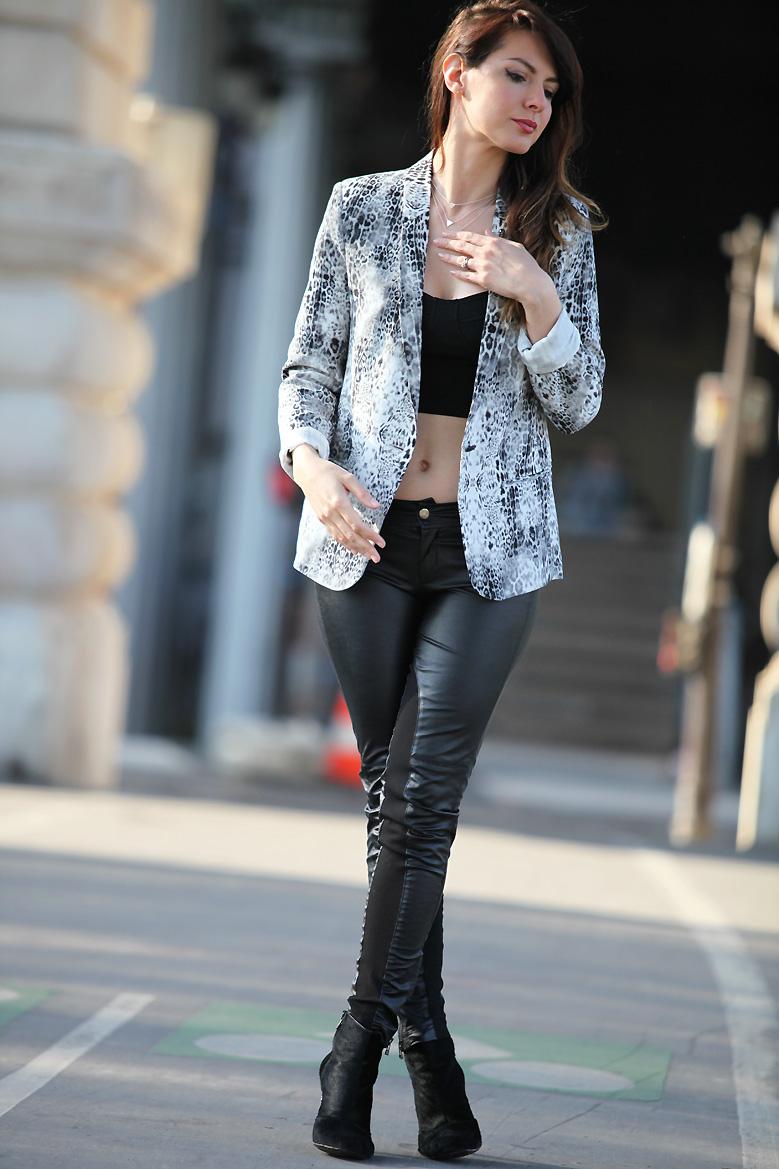 leopard jacket Bir Hakeim