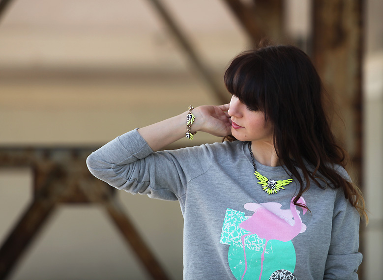 sweatshirt heretic Pink flamingo