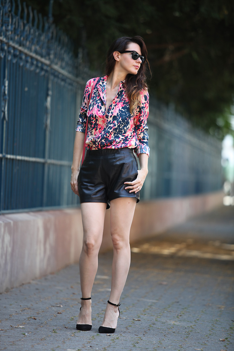 look_short_cuir