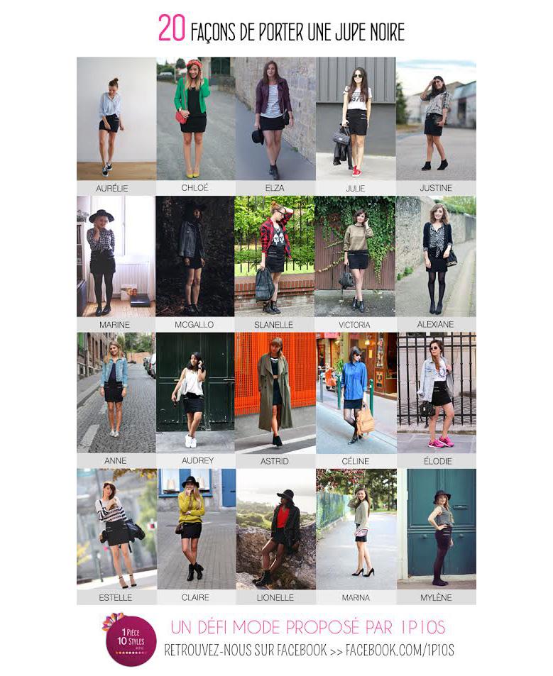 1p10s1 1P20S : Little black skirt