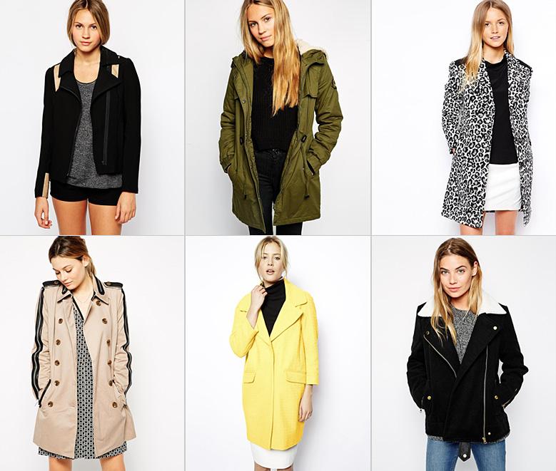 asos sept 2014 Shopping : I need a coat !
