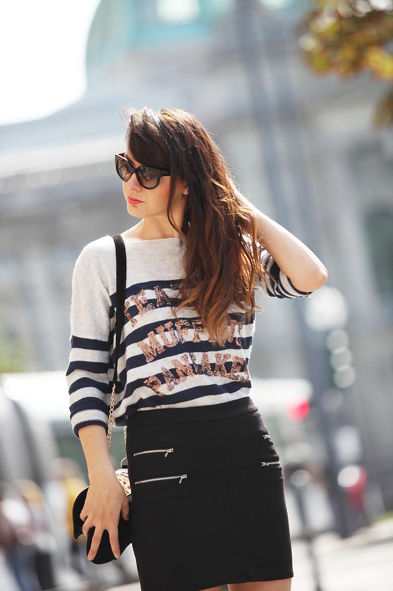 jupe tati 1P20S : Little black skirt