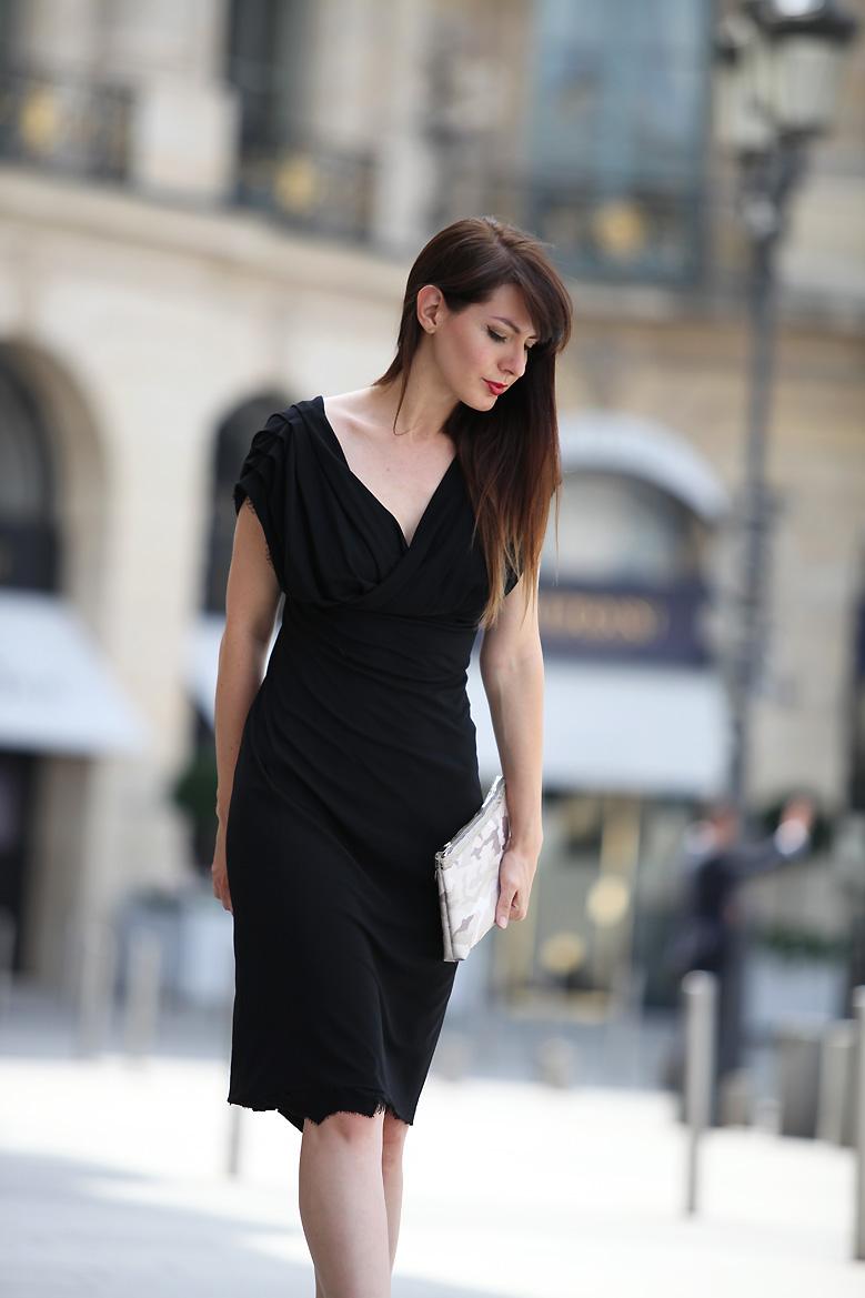 petite robe noire Place Vendôme