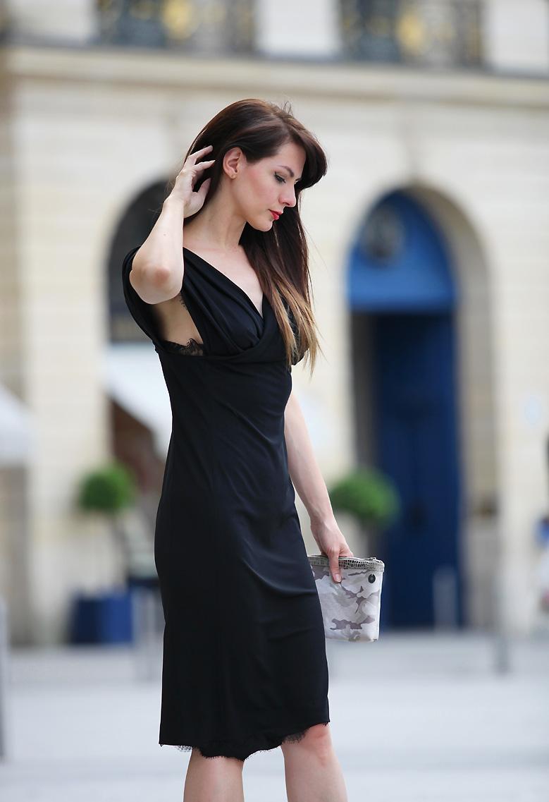 robe claudine ivari Place Vendôme