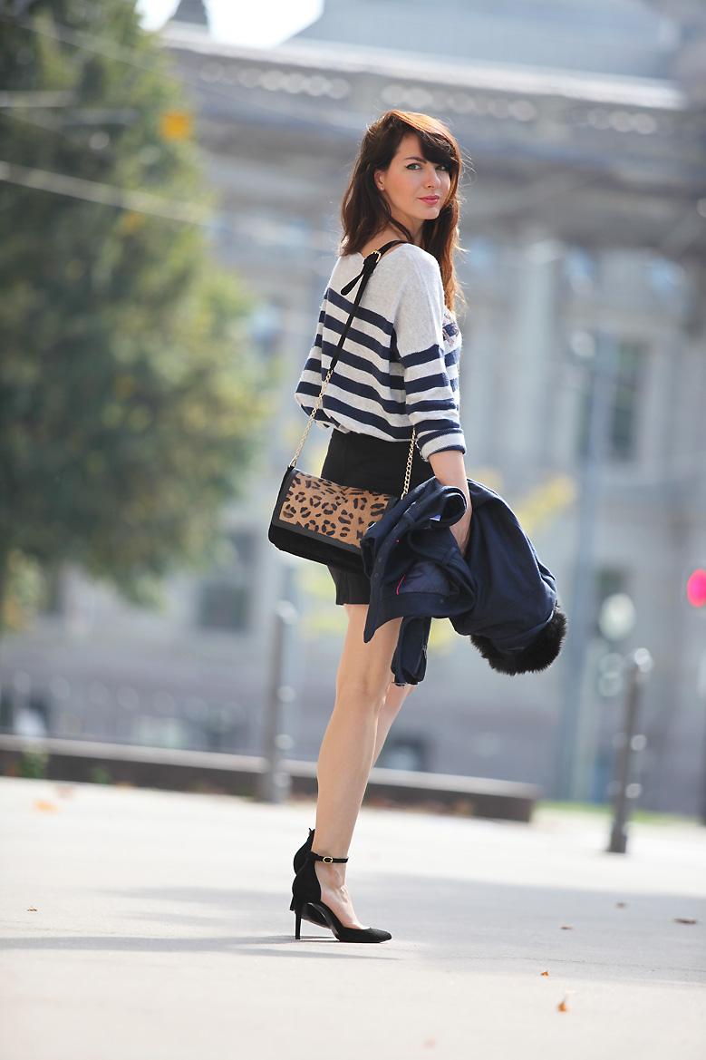 sac leopard 1P20S : Little black skirt
