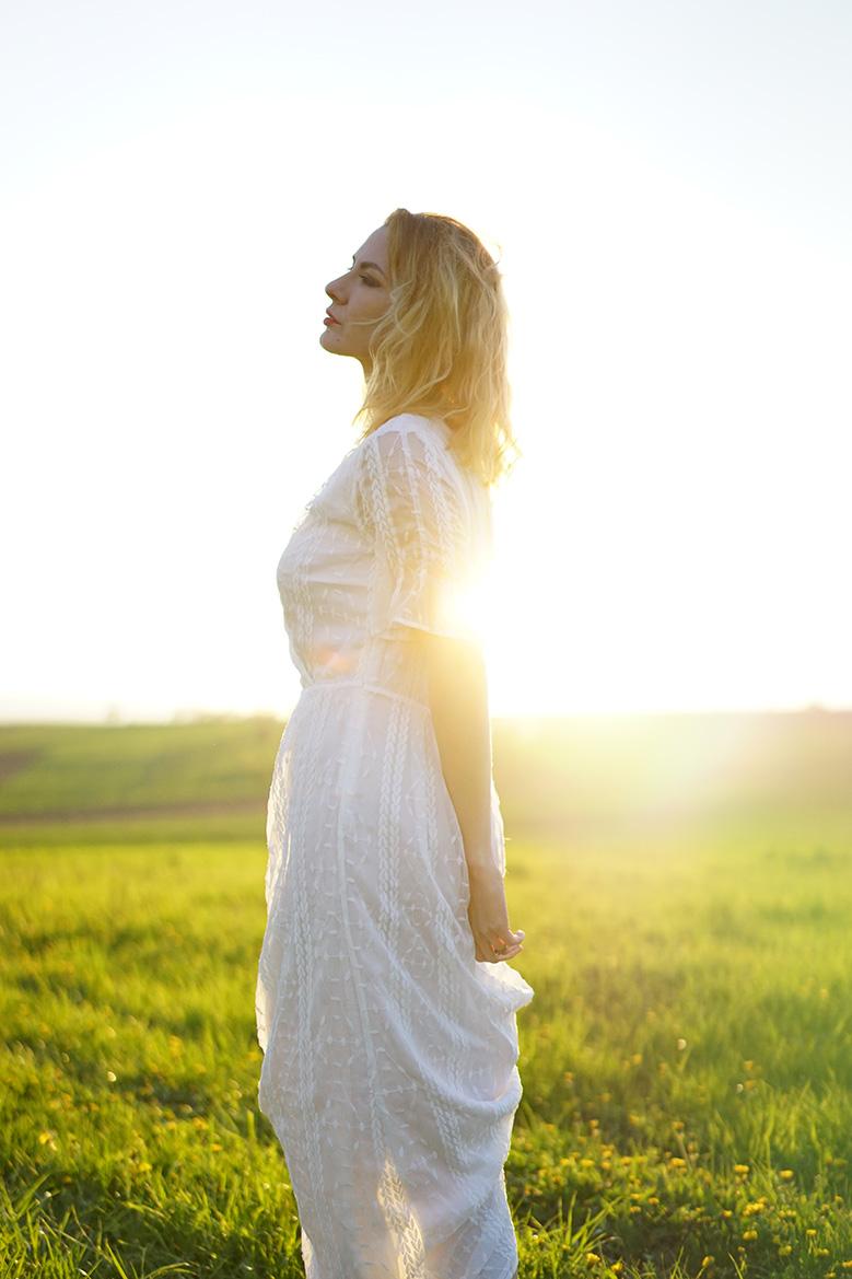 robe-blanche-longue