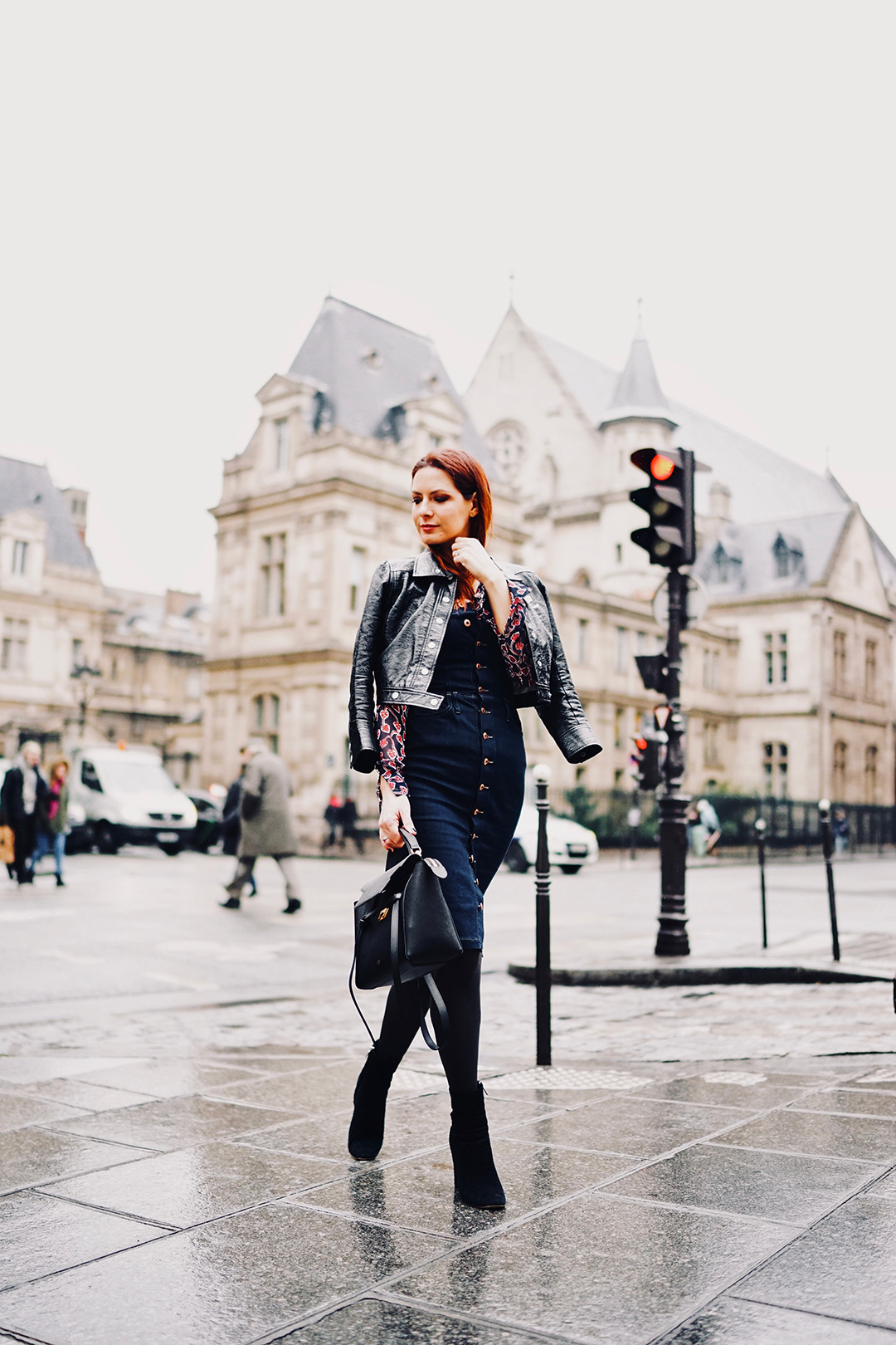 PFW : rainy outfit
